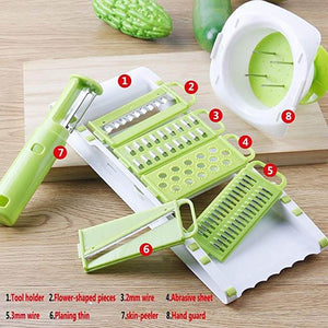 5 in 1 Multifunction Ultra Sharp Planing, Slicer