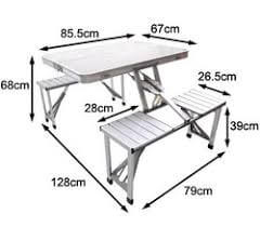 High Grade Aluminum Portable Outdoor Table
