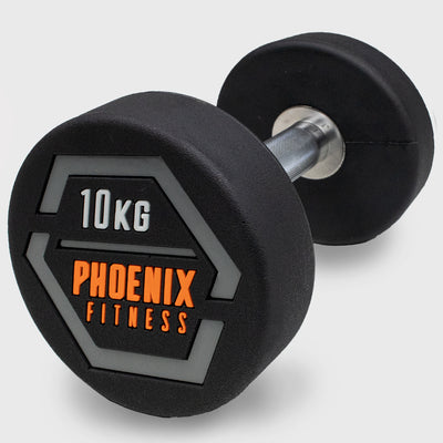 10KG Fixed Weight Dumbbell - Single