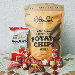 HAW FLAKES SALTED EGG POTATO CHIPS