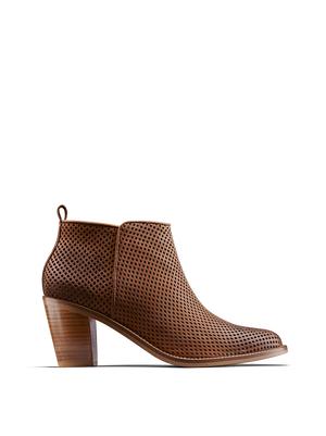Corsley Tan Leather - Everyday casual leather ankle boot