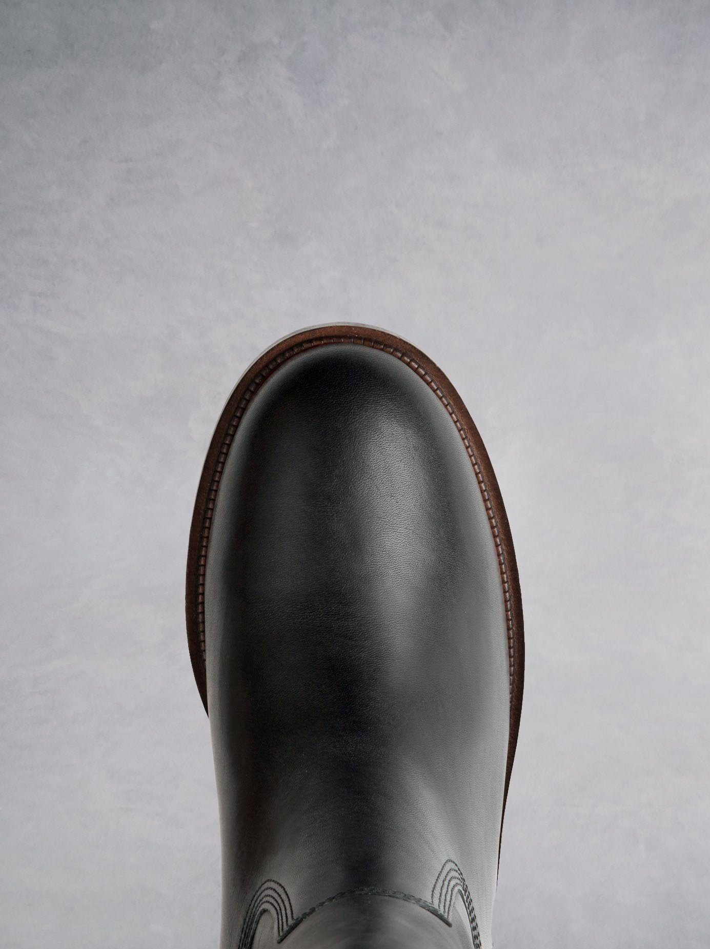 Paintbox Black Leather - Premium leather pull-on riding boot - web exclusive.