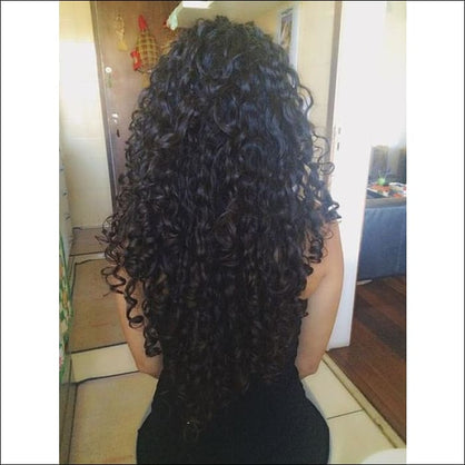 Jerry Curly Full Lace Human Hair Wigs Peruvian Hair With Baby Hair