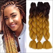 X-Pression premium Ultra Braid 2-16 - Crochet Braid