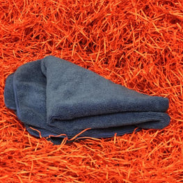 Large Blue Soft Microfibre Cloth