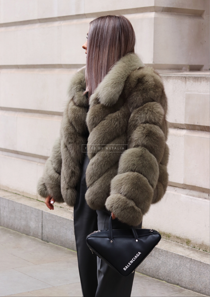 Chevron Coat