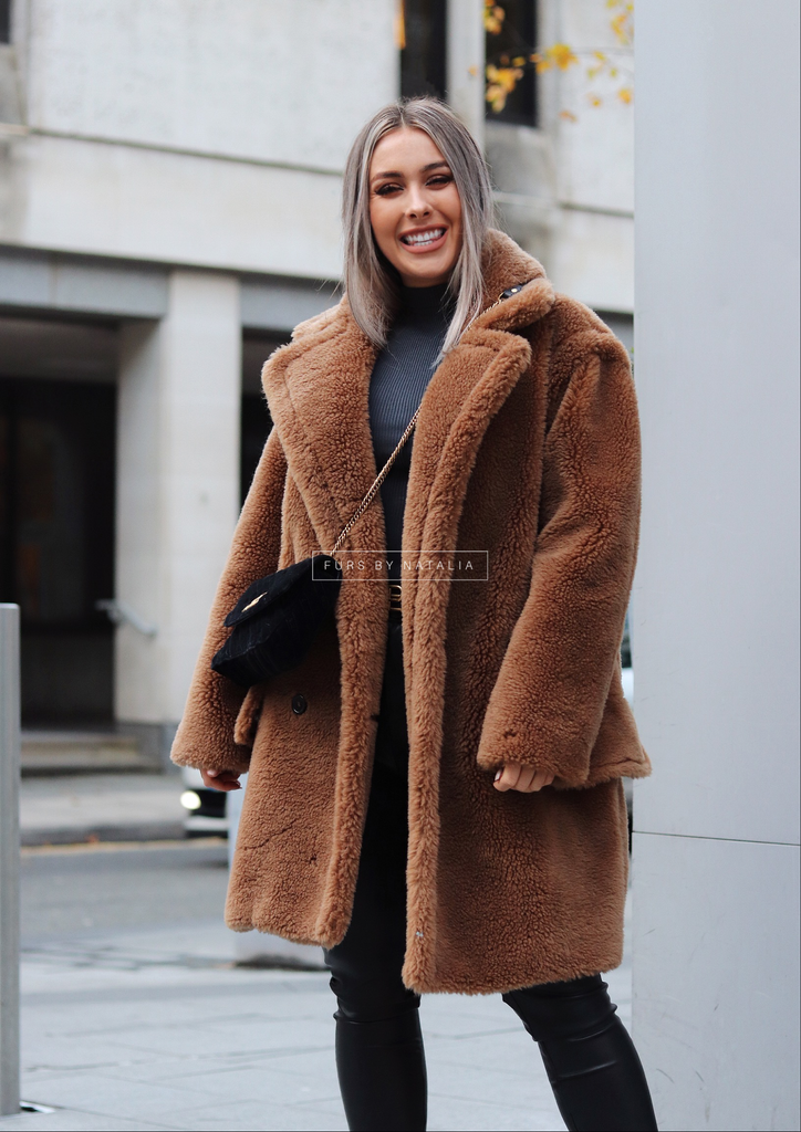 Midi Teddy Coat