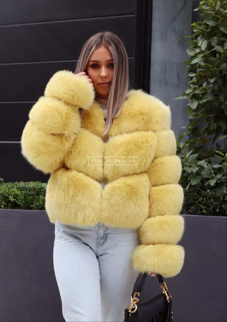 Mini Fox Fur Coat