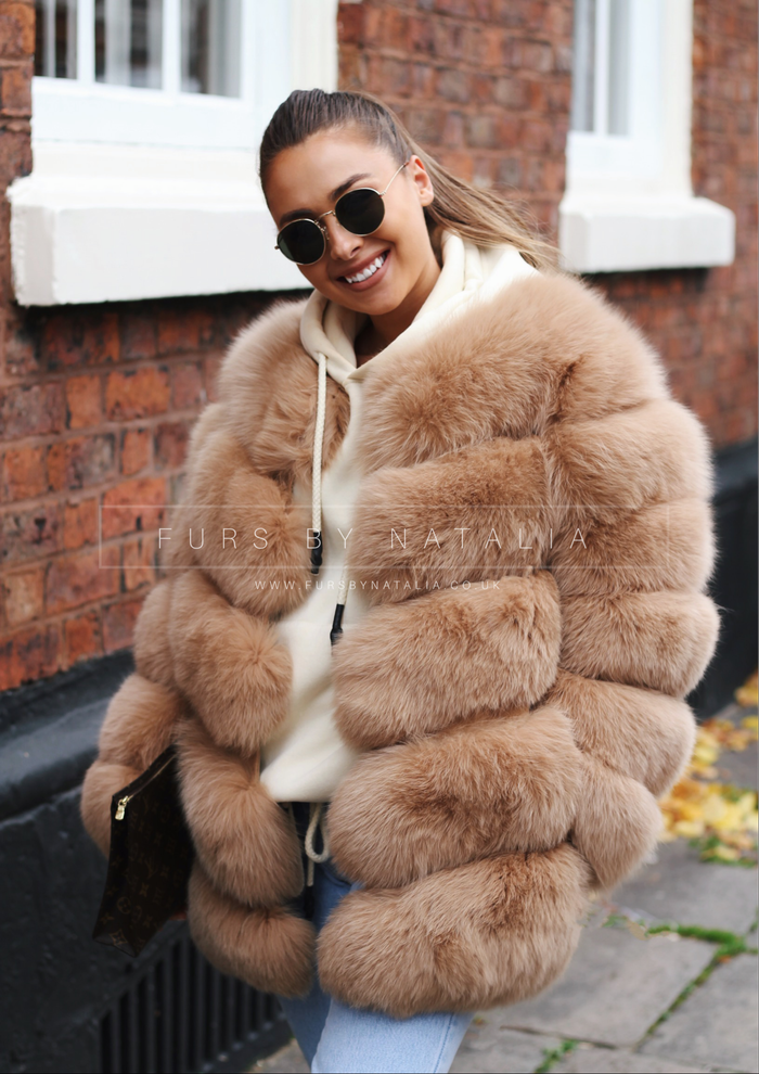 Oversized Fox Fur Coat