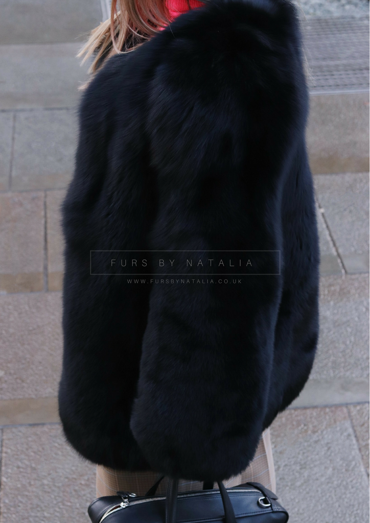 Long Flat Full Pelt Coat
