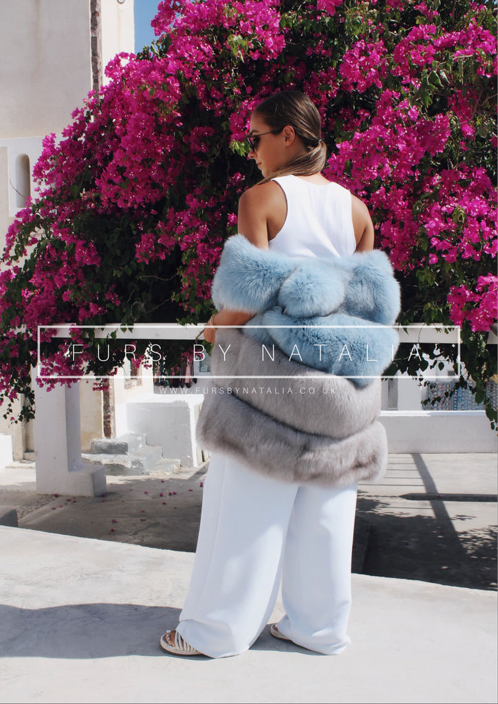 Mini Fox Fur Vest