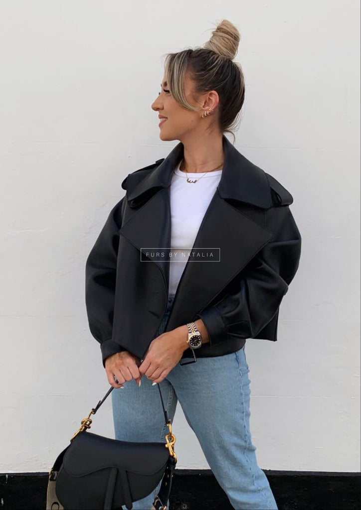 Oversized Leather