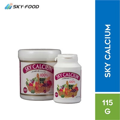 Sky Food Sky Calcium L-Type Fermented Calcium Lactate ( Free Vitamin D )