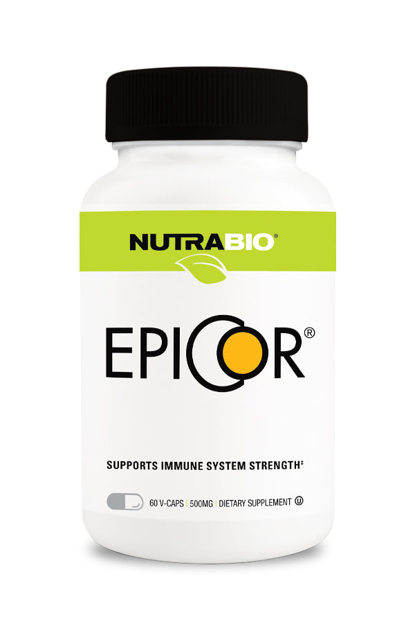 NutraBio EpiCor (500mg) 60 Vegetable Capsules