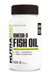 NutraBio Omega 3 Fish Oil 150 Softgels