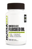 NutraBio Flaxseed Oil (1000mg) 240 Softgels