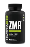 NutraBio ZMA 180 Vegetable Capsules