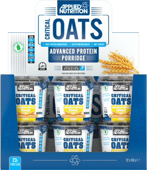 Applied Nutrition Critical Oats Case x 12 x 60g Pots