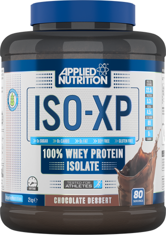 Applied Nutrition ISO-XP 5lbs 100% Whey Protein Isolate 80 Servings