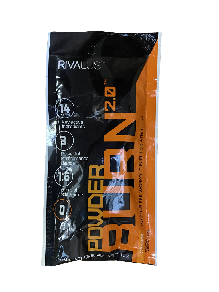Rivalus Powder Burn 2.0 Sample - Orange