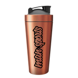 Man Sports Shots Fired Metal Shaker