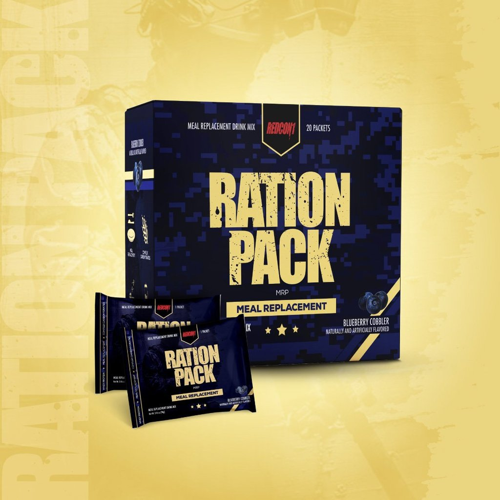 Redcon1 EXCLUSIVE RATION PACK - 20 ON THE GO MEAL REPLACEMENT SERVINGS