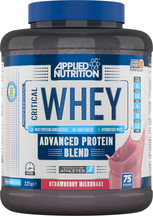 Applied Nutrition Critical Whey 2.27KG INFORMED SPORT TESTED