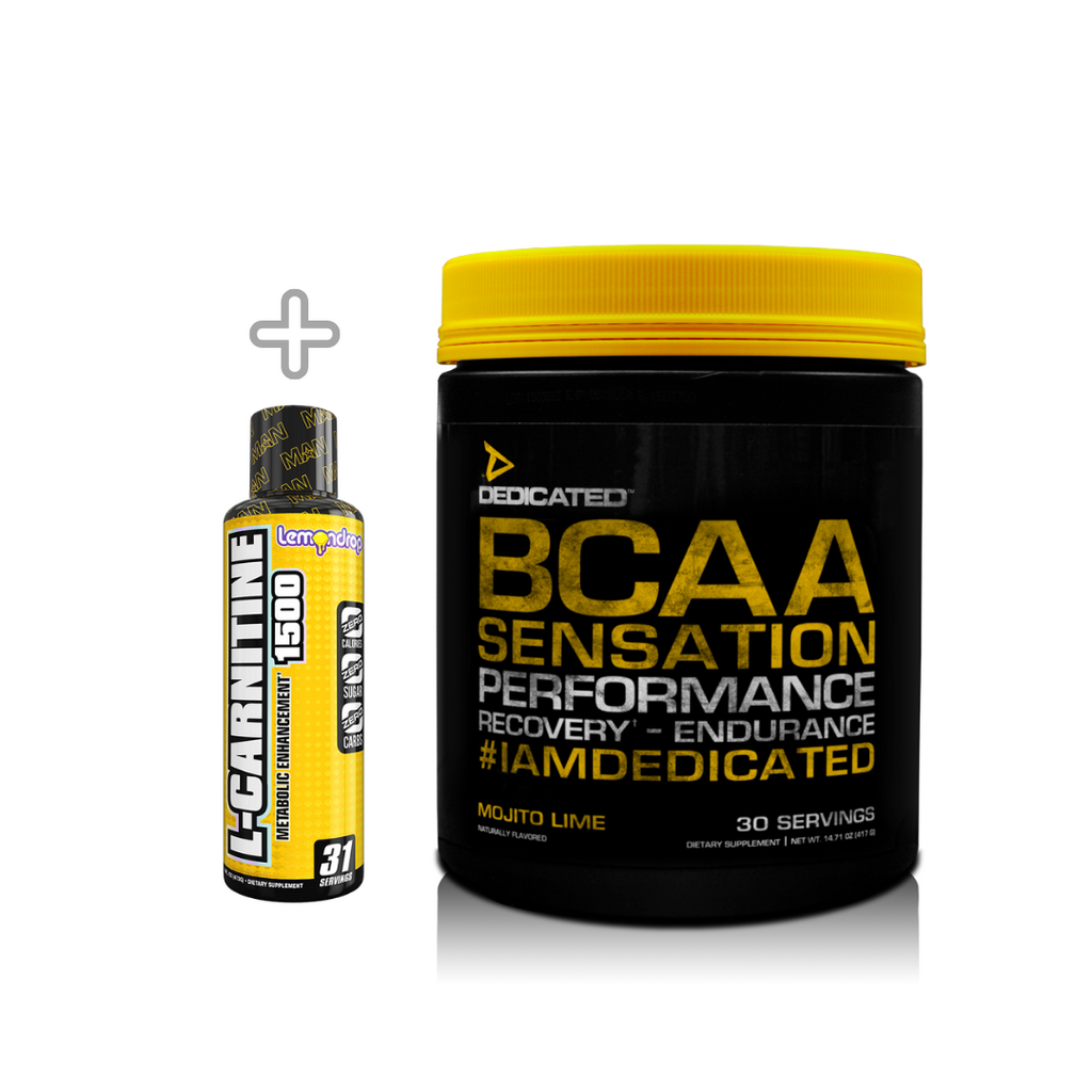 Dedicated Nutrition BCAA Sensation ( Free L Carnitine )