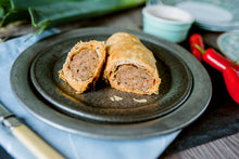 The Welsh Dragon - Spicy Harissa & Leek Sausage Roll