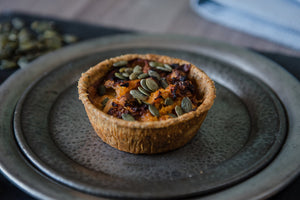 Butternut Squash & Goat's Cheese Pie (v)