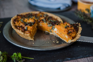 Butternut Squash & Feta Cheese Pie (v)