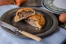 Traditional Beef Pasty with Horseradish
