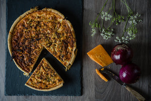Free Range Bacon & Organic Cheese Quiche