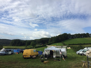 Campervan/caravan pitch at Fandango Farm 2020 @treflachfarm