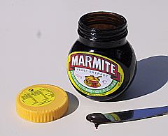 Image of Marmite kindly reproduced from Wikipedia