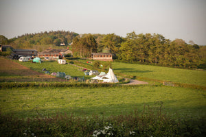 Camp at Treflach Farm