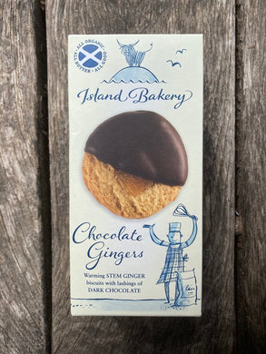 Island Bakery - Chocolate Ginger Biscuits
