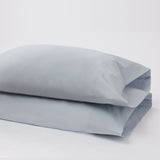 American Made 100% Cool Flow Cotton Pillowcase Pair - Blue Mist