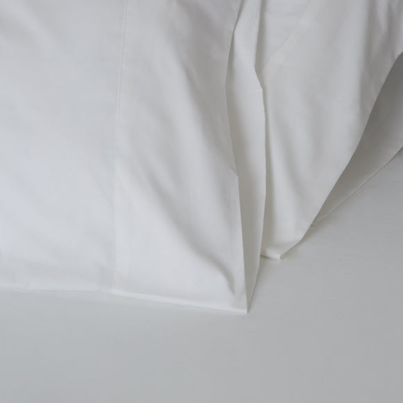 American Made 100% Cool Flow Cotton Memory Foam Fitted Sheet Set - Pure White
