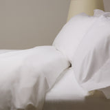 American Made 100% Cool Flow Cotton Sheet Set - Soft Ivory