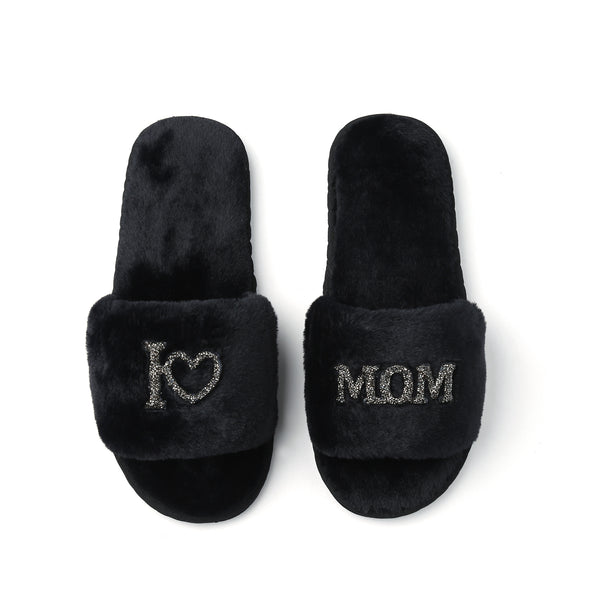 Mother's Day GLAMPERS! Black I LOVE MOM