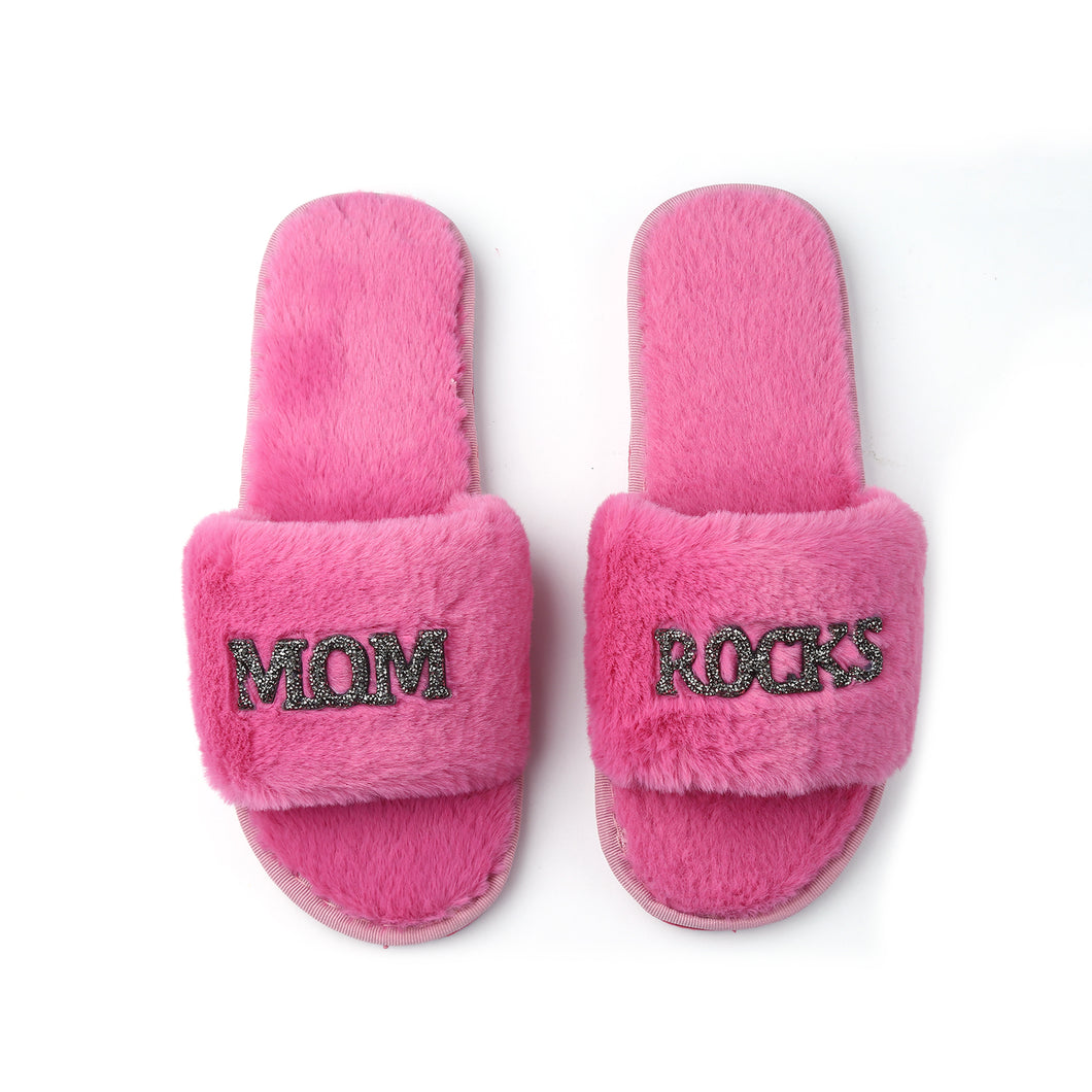 Mother's Day GLAMPERS! Pink MOM ROCKS