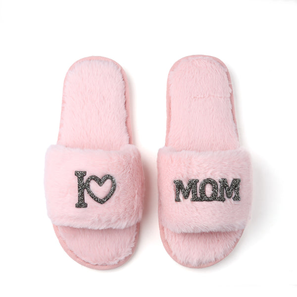 Mother's Day GLAMPERS! Light Pink I LOVE MOM