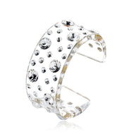 Amandla Transparent Floating Crystal Bracelet