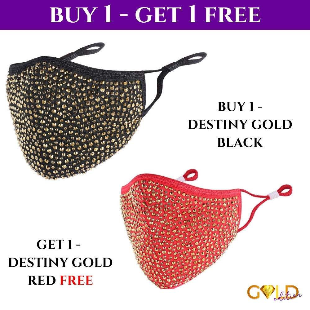 GOLD DESTINY COMBO - BUY 1 BLACK GOLD, GET 1 FREE RED GOLD DESTINY