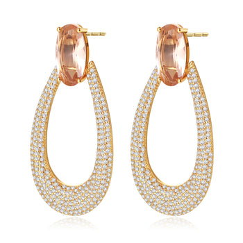 Stella Gold Statement Earrings