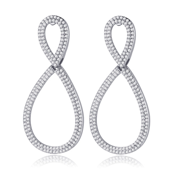 Eyana Earrings in Silver