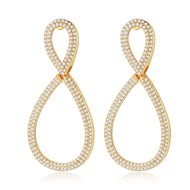 Eyana Earrings in Gold