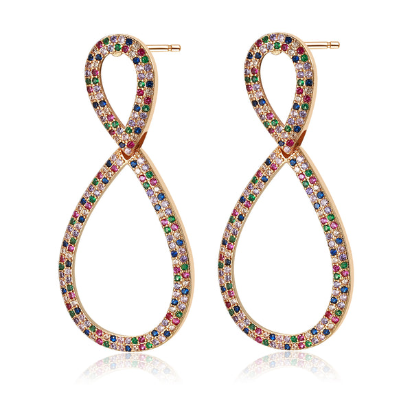 Eyana Colorful Earrings