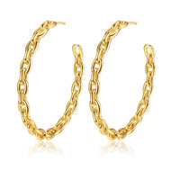 Brylie Earrings in Gold